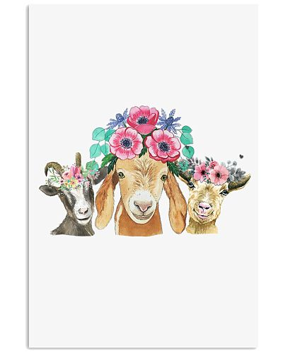 Goat flowers on the head