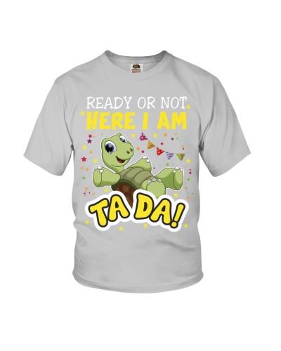 SHN ready or not ta da Turtle shirt