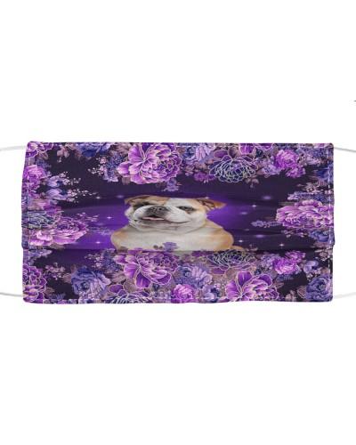 ln bulldog purple peonies