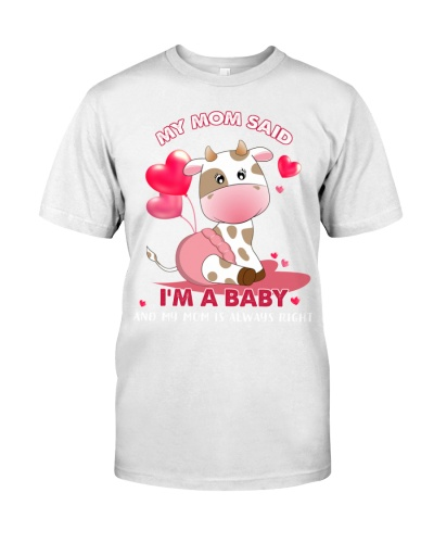 Cow is a baby shirt