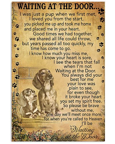 Dachshund god time we had together poster