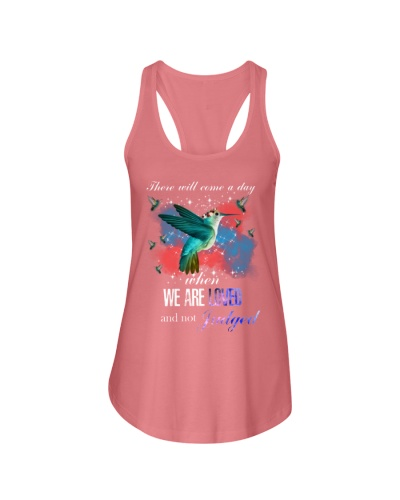 SHN We are loved and not judged Hummingbird shirt