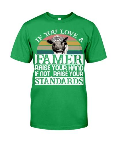 Cow Love A Famer
