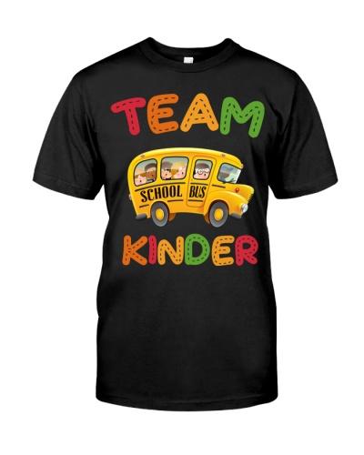 Camping team kinder