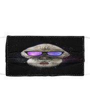 TH 30 Shih Tzu Galaxy Glasses Cloth face mask front
