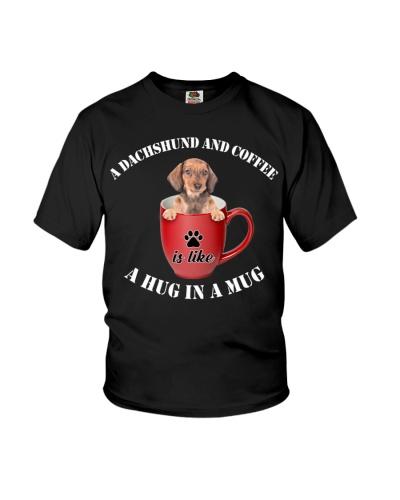 ll 11 dachshund puppy and coffee