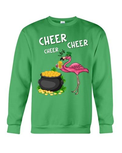 Flamingo cheer cheer cheer