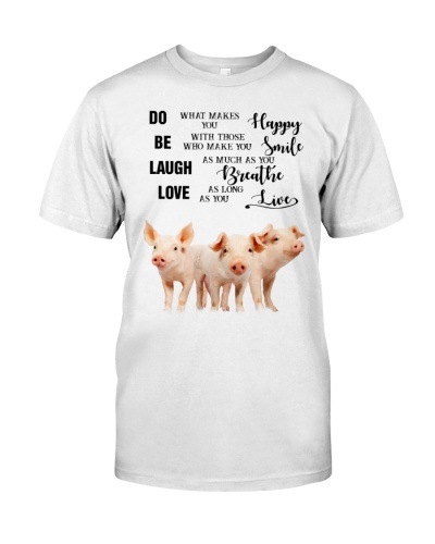 SHN 3 Do what makes you happy Pig