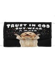 TT Cokapoo Trust In God Cloth face mask front