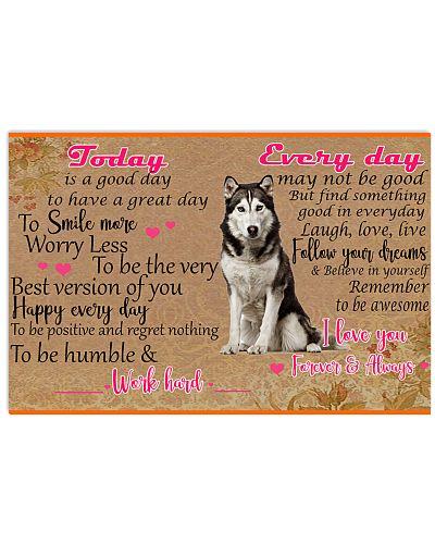husky poster today