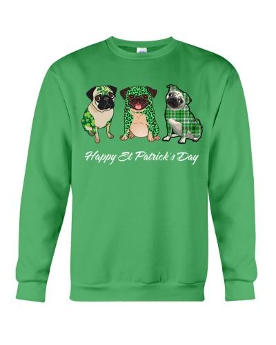 Pug  Happy ST Patrick day