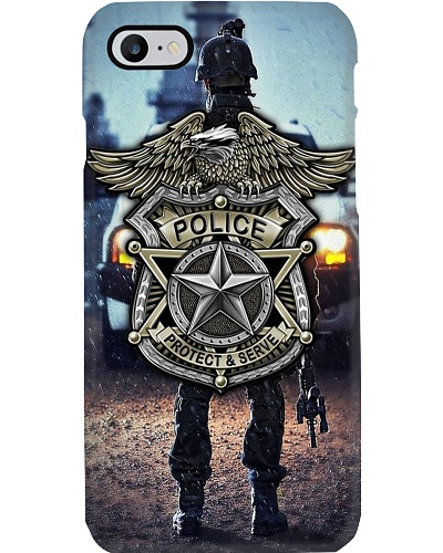 LT 10 Police protect and serve phone case