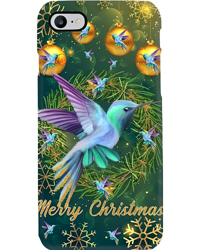 SHN Gold Christmas decoration Hummingbird case