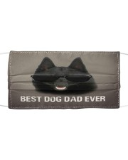 Th 5 Schipperke Best Dog Dad Ever Cloth face mask front