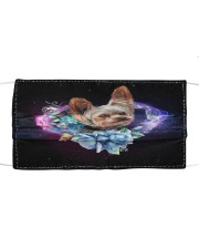 TH 32 Yorkshire Terrier Galaxy Heart Cloth face mask front