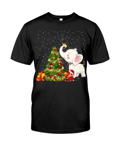 Elephant funny christmas