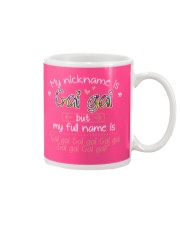 sn my nickname is gai gai Mug tile