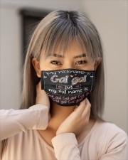 sn my nickname is gai gai Cloth face mask aos-face-mask-lifestyle-18