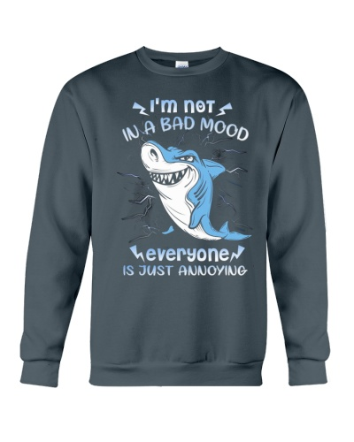 Shark Is Not In A Bad Mood