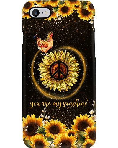 TTN 5 You are my sunshine sunflower Chicken case