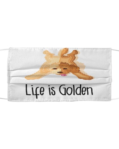SHN Life Is Golden Face Mask