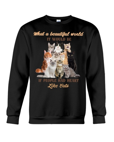 MT What A Beautiful World If People Like Cat