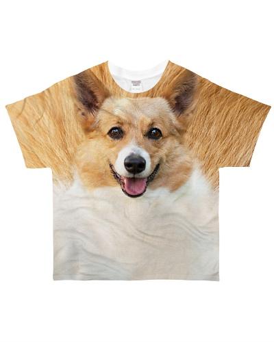 TTN 10 Corgi All Over Shirt