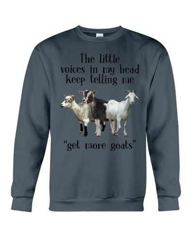 Telling Me Get More Goats