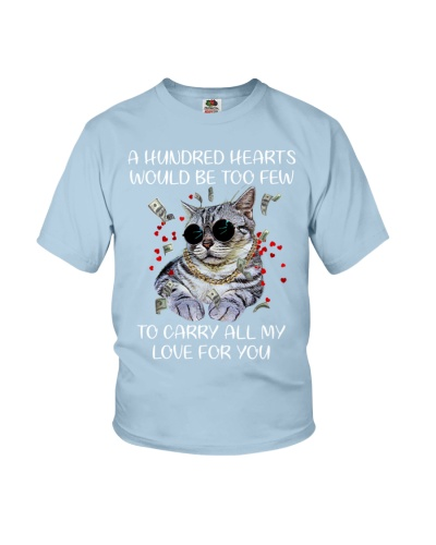 A hundred hearts would be too few Cat