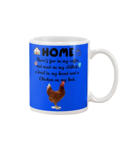 Chicken home mug