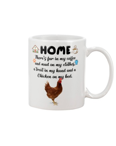 Chicken home mug