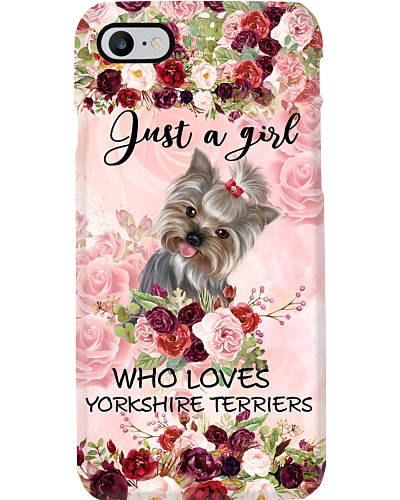 Ln yorkshire terrier just a girl case