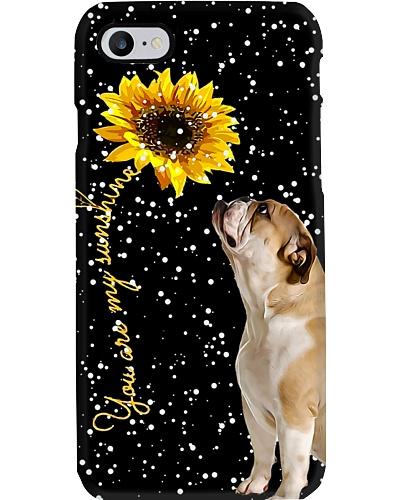 Bulldog my sunshine phone case