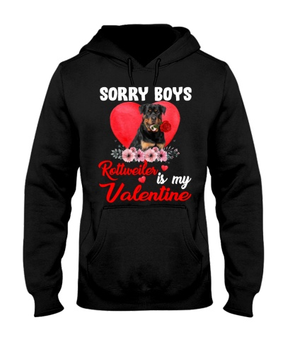 Sorry boys Rottweiler is my Valentine