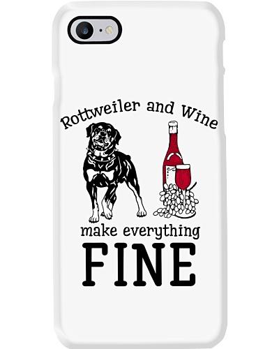 Rottweiler wine is fine