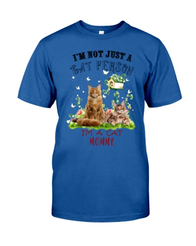 Not just a Cat person mommy shirt