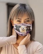 Th 2 labrador retriever color pattern Cloth face mask aos-face-mask-lifestyle-18