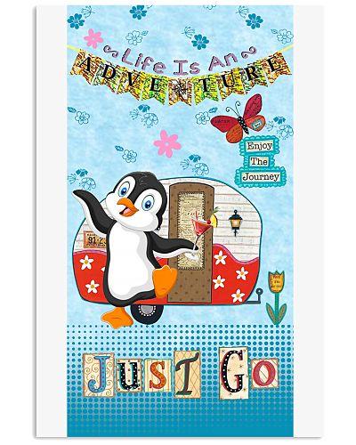SHN Life is adventure just go Penguin