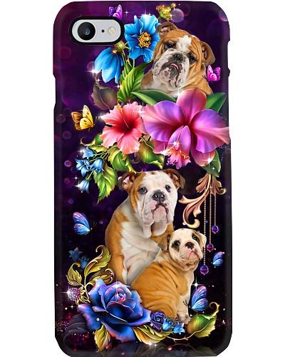 Bulldog varied flowers