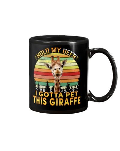 Giraffe Hold My Beer