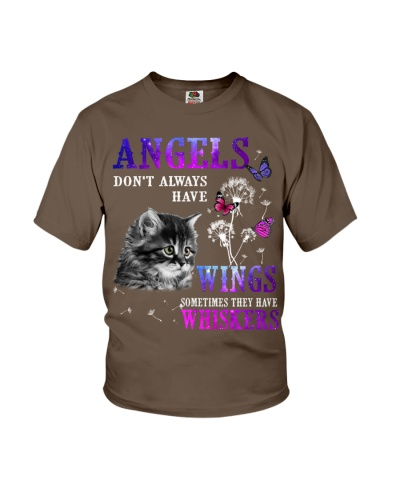 Cat angels have whiskers