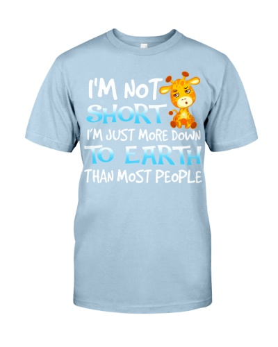 Giraffes is not short shirt