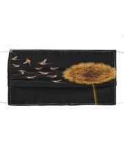 dt 8 hummingbird dandelion cloth 4520 Cloth face mask front