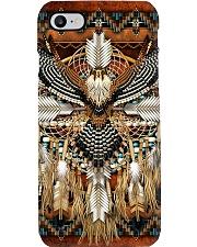 SHN 10 Brown native dreamcatcher Eagle Phone Case thumbnail