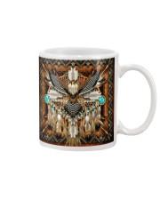 SHN 10 Brown native dreamcatcher Eagle Mug thumbnail