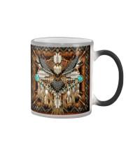 SHN 10 Brown native dreamcatcher Eagle Color Changing Mug thumbnail