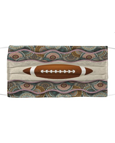 American Football Sport Boho Pattern
