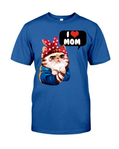 I love mom cat shirt