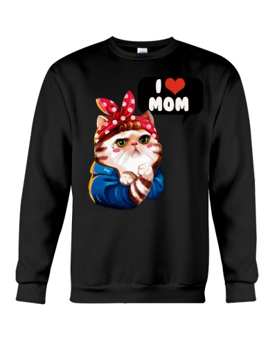 I love mom cat shirt