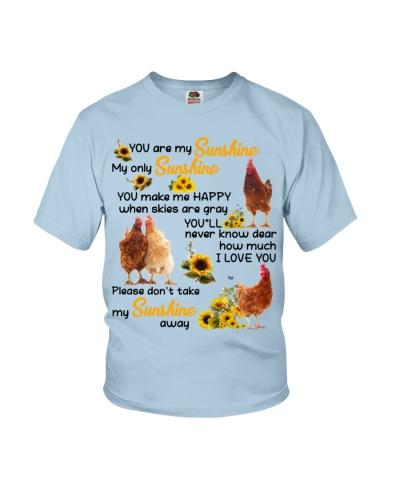 Not take my sunshine away luv U Chicken